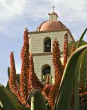 Flamboyant Santa Barbara Mission