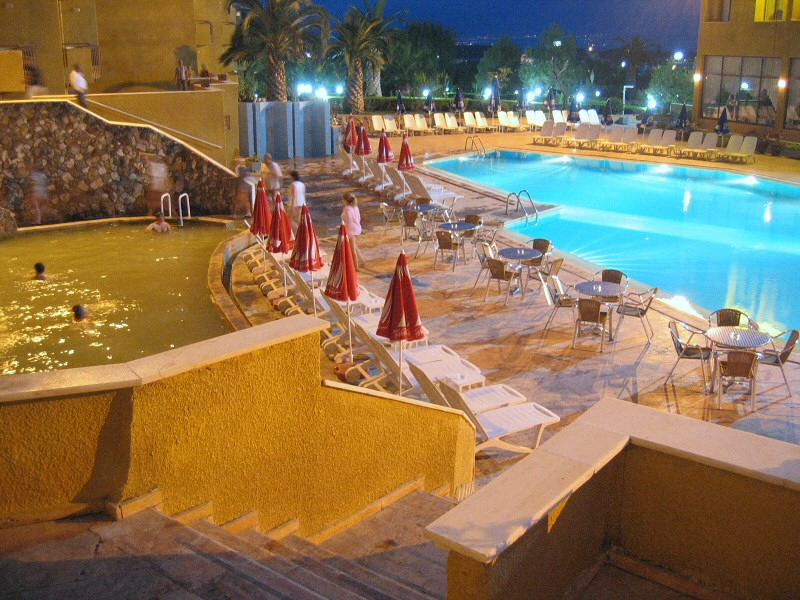 Along with the hotels alternative normal pool