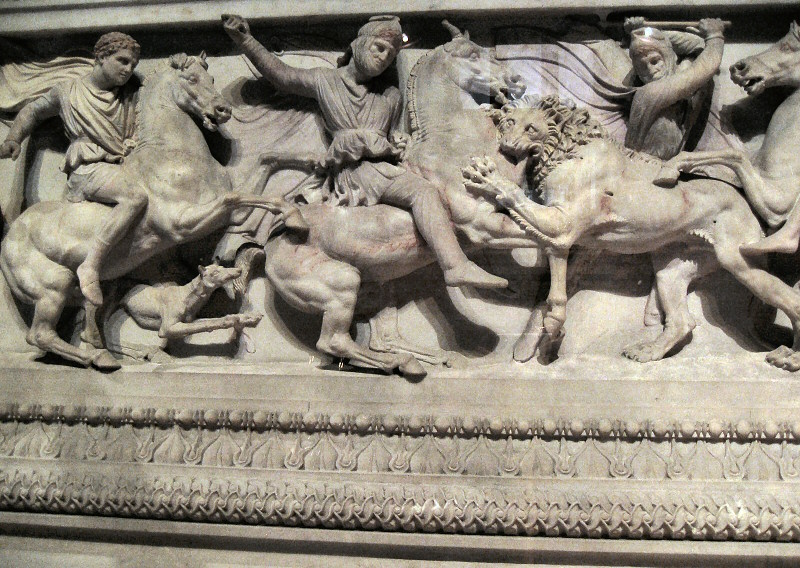 More detail from Alexander hunting panel