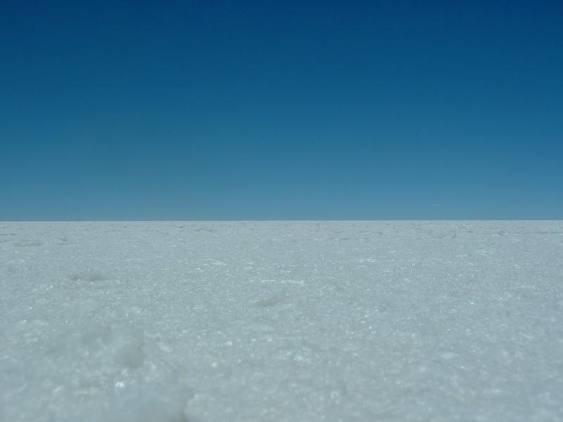 Sky and salt