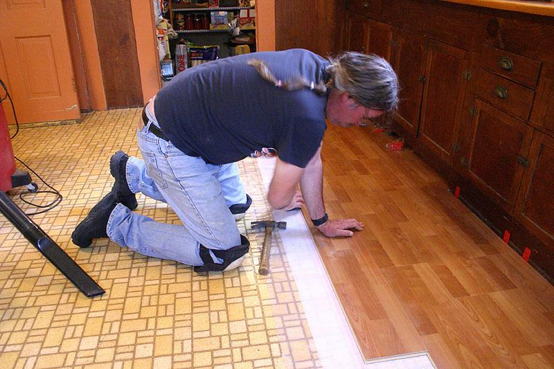 Installing A Kitchen Floor
