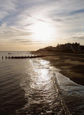 From Southwold Pier