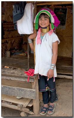 Padaung hilltribe - Dhammayon, Burma