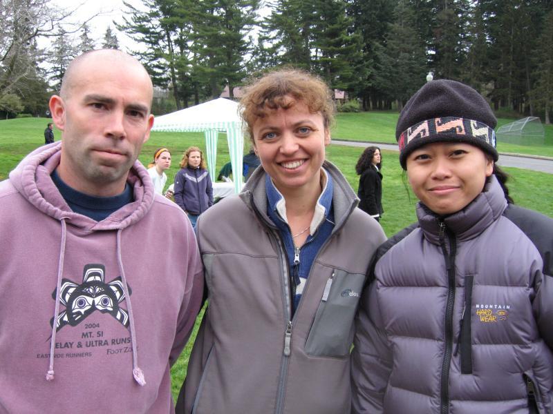 Rob, Olga & Van