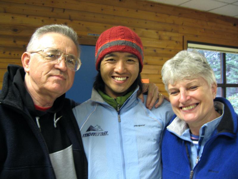 Wes, Hiroki Ishikawa & Brandons Mom, Carolyn