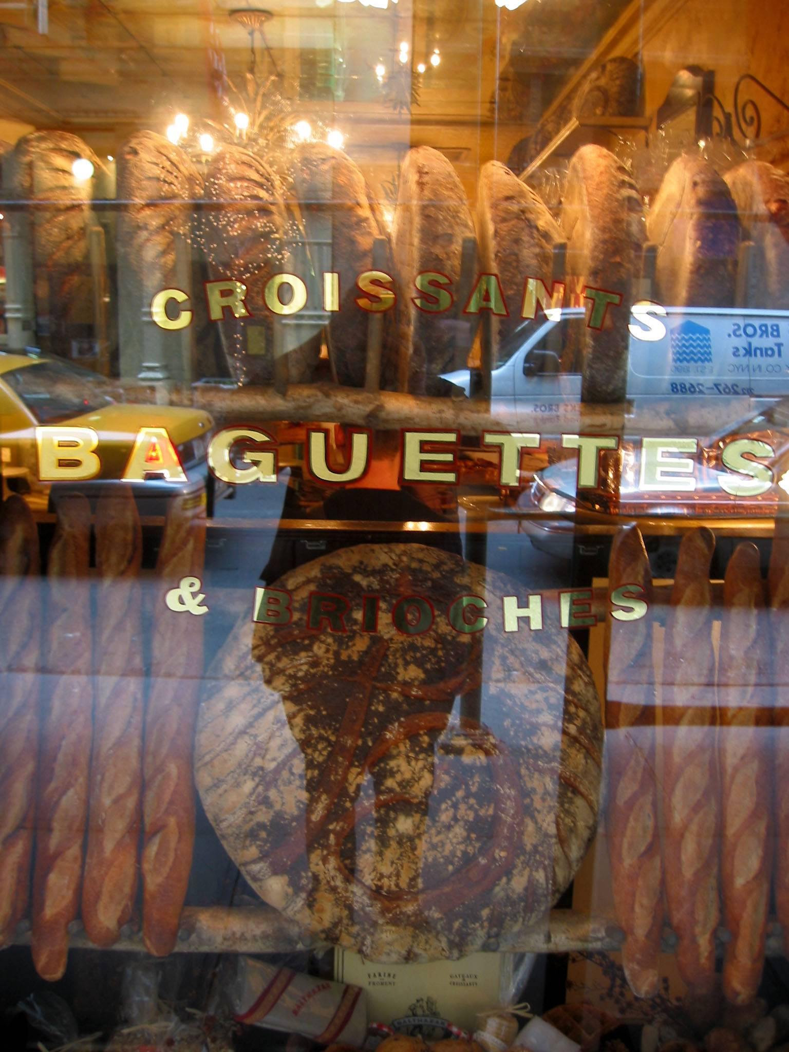 Balthazars Bakery  between Broadway & Crosby