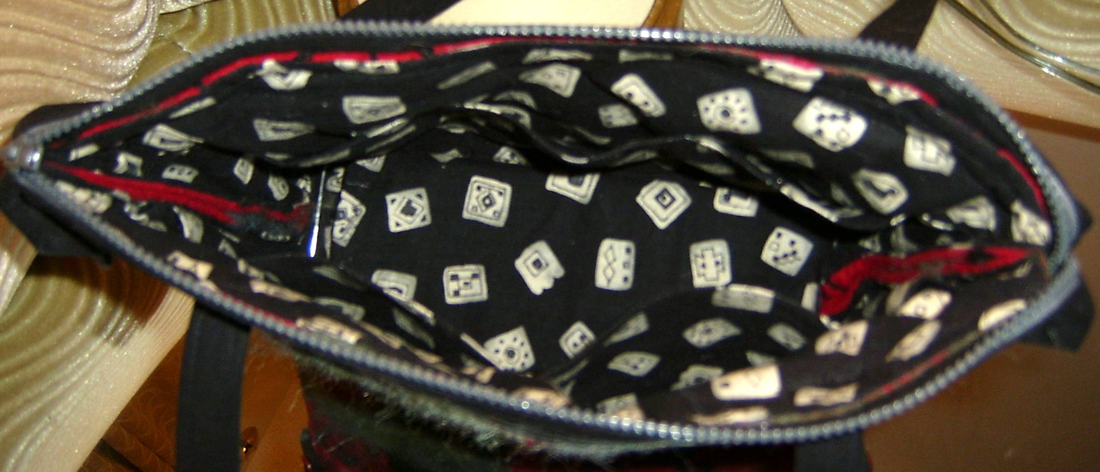 Inside Embellished Purse