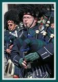 Playing the Bagpipes with Determination