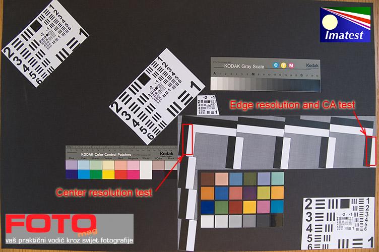 Imatest FotoMag test target