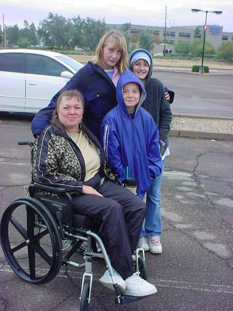 clockwise Tammy, <br>Tasha, Robin and Cory