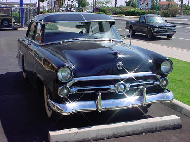 1953 Ford sedan <br> most likely a 1952
