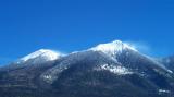 Snow Blow on Humphrey's Peak