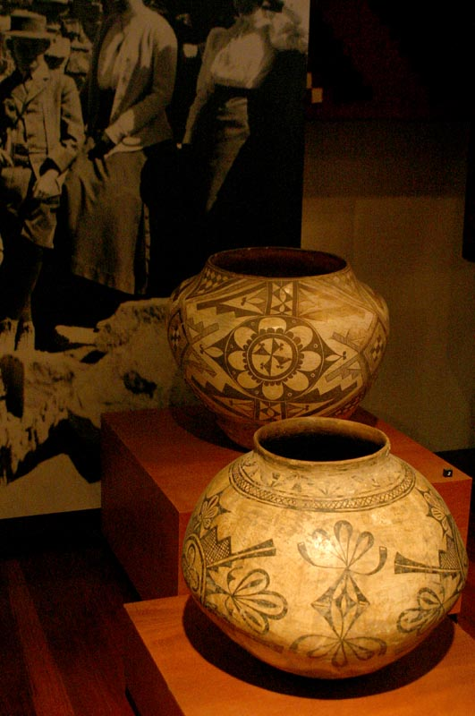 Indian Pottery at the Heard Museum