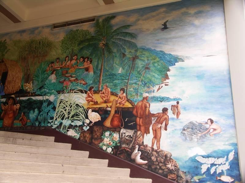 Campus Center  Mural