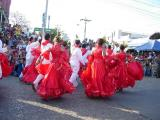 Cumbia in red and white