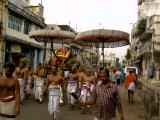 Emperuman's SriSaTakopam returning back to temple after honouring HH Sri Kaliyan swamy