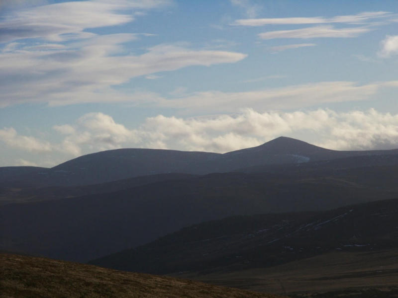 Broad Cairn and Mount Keen
