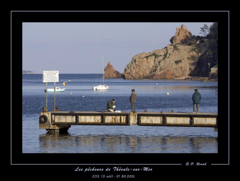 Les pêcheurs de Théoule-sur-Mer