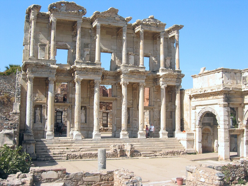 Also known as Celsus Library