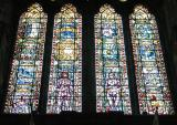 Post-war windows with Adam & Eve, Glasgow Cathedral