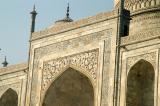 East face of the Taj Mahal closeup