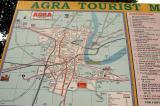 Agra Tourist Map