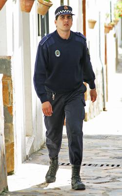 Policeman, Andalucia, Spain
