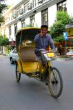 Pedicabs are a popular form of transpo