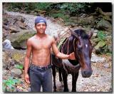 Young worker om Ometepe Island