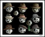8/18/04 - Hats, hats, hats, hats ..