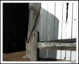 Your barn door is open.