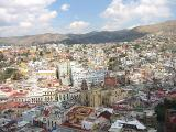 View of Guanajuato from the monument