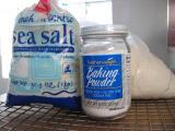 Sea Salt, Baking Powder & Whole Wheat Pastry Flour