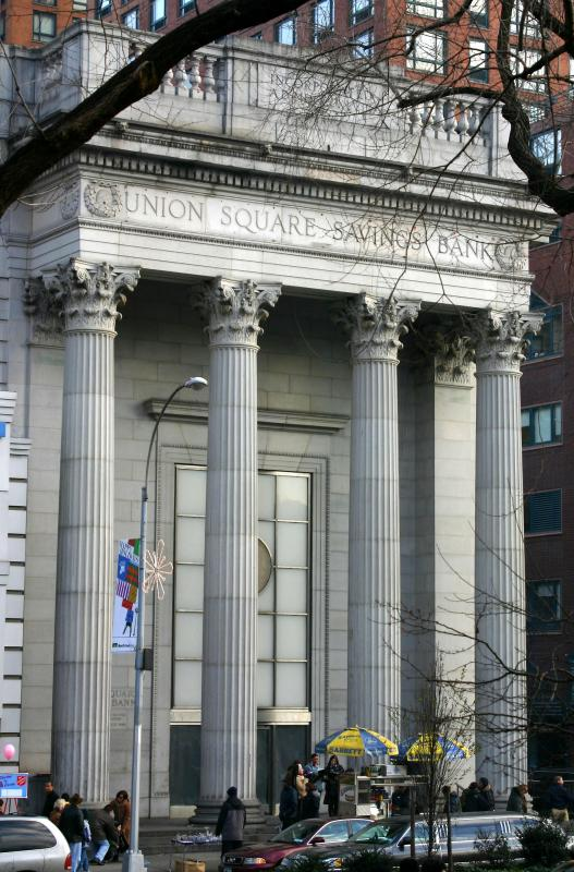 Union Square Savings Bank at 15th Street
