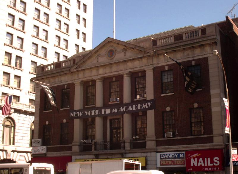 NY Film Academy at Northeast Corner of Union Square