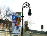 Union Square East Banner