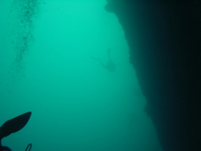 Blue Hole Depth 55m
