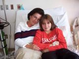 Courtney in Hospital December 2004