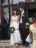 Le nouveaux mari et épouse