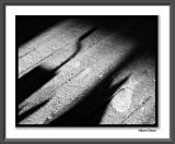 Shadows on Old Wood