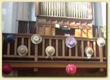 Hats on the organ