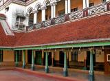 Third courtyard - Chettinad Palace