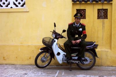 Policeman, Hanoi, Vietnam, 2000