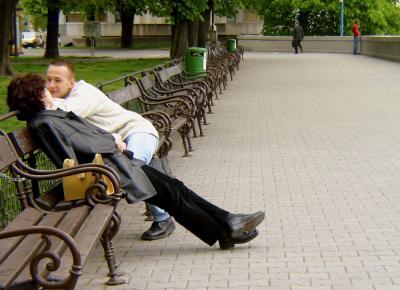 On the Danube Promenade, Bratislava, Slovakian Republic, 2003
