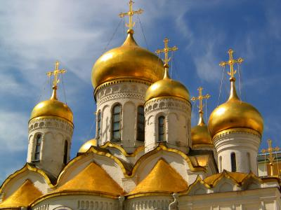 Kremlin Cathedral, Moscow, Russia, 2003