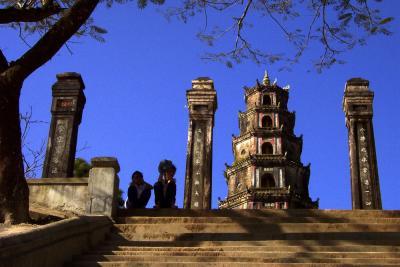 Thien Mu Pagoda, Hue, Vietnam, 2000