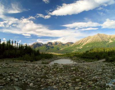 Kennecott River Valley, McCarthy, Alaska, 2002
