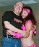 Bill Tricomi and friend Delilah