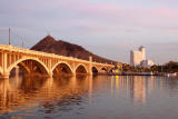 Sunset on Tempe's Town Lake