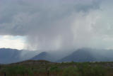 Cloud Burst on the Estrella Mountains